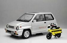 NEW 1/18 Autoart Diecast Honda City Turbo II open close car model W Motocompo
