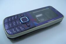 Purple Fascia Housing Cover Case for Nokia 6220c 6220 Classic Faceplate Tool NEW