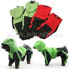 DOG WATERPROOF RAIN COAT TROUSER SUIT CLOTHES SIZE EXTRA SMALL TO EXTRA LARGE UK