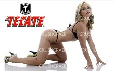 3X5 FRIDGE MAGNET LOCKER TOOL BOX HOT BABE TECATE BLONDE BENT OVER