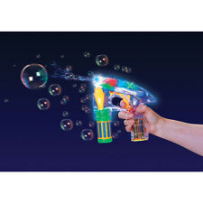 BUBBLE RAY GUN SCI-FI THEMED TOY AGE 5+ FREE P&P GREAT CHRISTMAS GIFT IDEA NEW