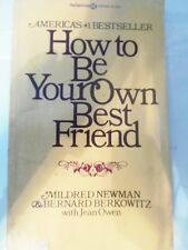 How to be Your Own Best Friend by Mildred Newman paperback store#999