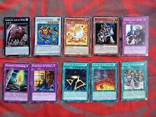 1996 - VF - Lot de 10 cartes Yu-Gi-Oh! - ELECTRO CHIMERE (etc...) - Lot 4