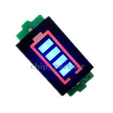 Single Lithium Battery Capacity Indicator Module 4.2V Blue Display Power Tester