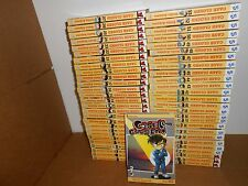 Case Closed (Detective Boy Conan) 1-60 Manga Graphic Novel Book Lot in English