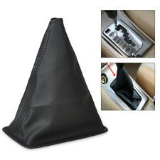 Black PU Leather Gear Stick Shift Cover Boot Gaiter for 2001-2013 Toyota Corolla