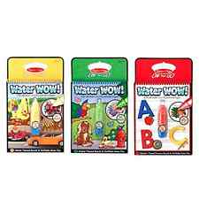 Melissa & Doug On The Go Water Wow Bundle - Vehicles. Animals and Alphabet .