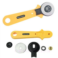45mm Rotary Cutter Quilters Sewing Quilting Fabric Craft Cut Cloth Cutting Tool
