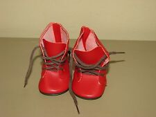 vtg 1990s Pleasant Company American Girl Doll Kirsten Red Boots shoes