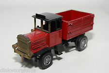 ZISS MAN ERSTER DIESEL LASTWAGEN 1923 24 TRUCK RED EXCELLENT CONDITION