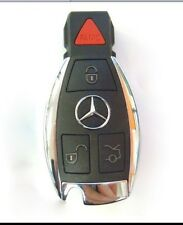 OEM MERCEDES BENZ SMART KEY REMOTE FOB KEYLESS CHROME C E SL S GL CL GLK R CLASS