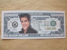1 x Elvis Novedad $1 millón de dólares en nota.