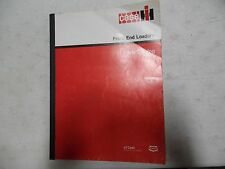 Case Front End Loaders Parts Manual