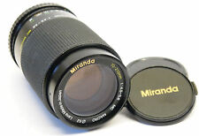 Miranda 70-210mm f/4.5-5.6 Pentax PK mount lens stock No. U6867