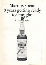 1965 Martin V.V.O. Scotch Whisky Vintage Bottle PRINT AD