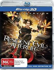 Resident Evil: Afterlife 3D Blu-ray Discs NEW