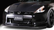 GENUINE VARIS FRONT SPOILER LIP CARBON FOR NISSAN FAIRLADY 370Z Z34 EARLY