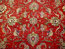 8X11 1940's MASTERPIECE HAND KNOTTED MASTER SIGNED ANTQ WOOL TABRIZ PERSIAN RUG