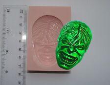 Moule silicone L'incroyable Hulk Marvel Superhero Glaçage Gâteau carte topper fimo