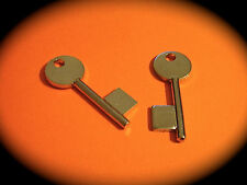 5 Lever Key Blank Pair To Suit CHUBB 4L40-2 Keys. Mortise-Free Post -R167