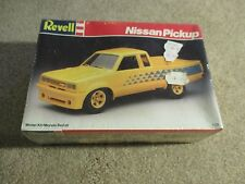 Revell Nissan Pickup Truck 1:25 Scale Model Kit 1987 Sealed MISB See My Store