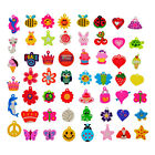COLOURFUL RAINBOW LOOM BAND RUBBER CHARMS for BRACELET & NECKLACE MAKING BANDZ