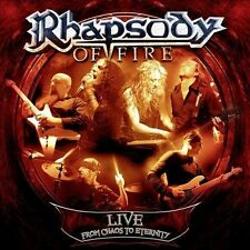 Rhapsody Of Fire-Live From Chaos To Eternity CD NEW