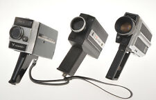 3 super 8mm cameras; PDM S500, Viceroy Super 8, Chinon 400, untested sold as is