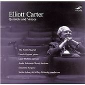 Elliott CARTER Quintets & Voices CD MODE Arditti Oppens Shelton Asbury