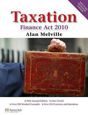 Taxation: Finance Act 2010 by Alan Melville (Paperback, 2010)