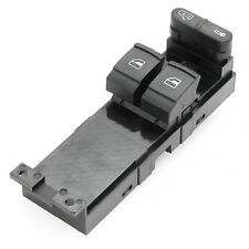New Driver Master Power 2 Door Button Window Switch Fit For VW Golf 1J3959857B