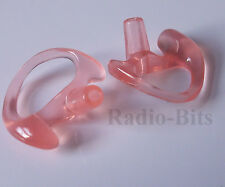Gel Ear Mould   2 Pack SMALL Left/Right MTH800 Sepura Airwave Police Security