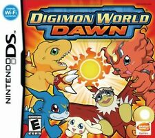 NINTENDO DIGIMON World DAWN GIOCO CARD Working with DS, DS Lite, DSi, 3DS
