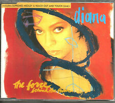 DIANA ROSS Force Behind the Power 2 EDITS& SUPREMES MEDLEY & LIVE TRX CD single