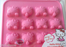 Sanrio HELLO KITTY SILICONE Mold Chocolate ICE Jelly Mini Cake Mould party set
