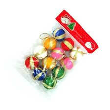 12 pcs Christmas Tree Hanging Ball Decoration Ornament Bauble Party Gift