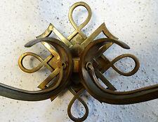 Paire de Belles Appliques - Bronze - LELEU