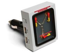 Officially Licensed Back to the Future Flux Capacitor USB Car Charger *NEW*