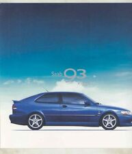 1999 Saab 9-3 Viggen Brochure my6385