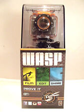 WASPcam Action Sports Camcorder 9901 DR NEW