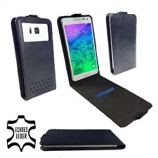 Genuine Leather Wallet Case For Elephone P5000 / P6000 - FLIP Black M