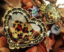 Jewelry Love Style Leopard Ring