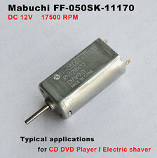 MABUCHI FF-050SK-11170 DC 12V 17500RPM Micro Motor for CD Player Electric Shaver