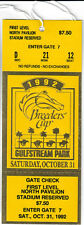 1992 BREEDERS CUP HORSE RACING ADMISSION TICKET - GULFSTREAM PARK!