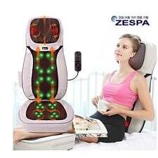 ZESPA Portable Powerful Shiatsu Massage Cushion Body Rolling Up 8in1 ZP-854 Heat