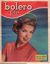 rivista fotoromanzo - BOLERO - Anno 1952 Numero 251 BELLEZZA SPORTIVA