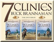 7 Clinics with Buck Brannaman, Complete DVD Set:Discs 1–7