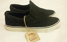 DIESEL VANSIS W Denim Black Sneakers Size uk 7, eu 40
