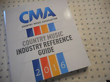 CMA 2016 Directory Book & Reference Guide