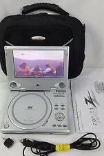 "Zenith ZPA-314 Portable DVD Player (7"") AC/DC with Battery & Case"